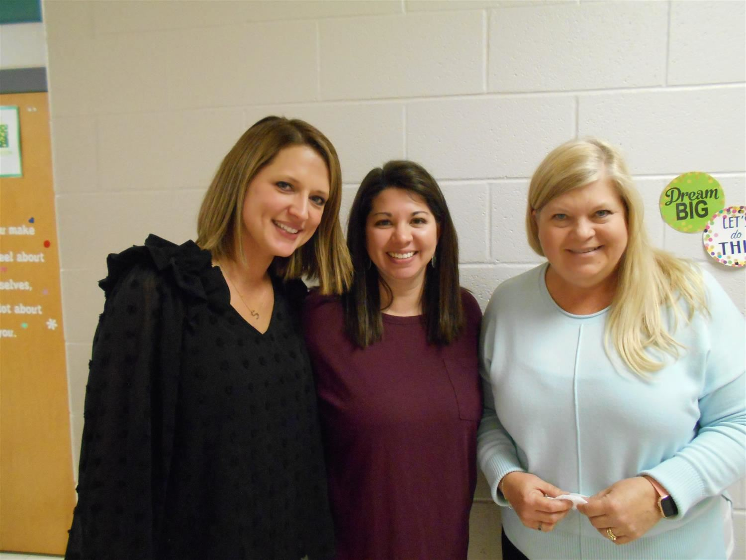 Third Grade Teachers - Mrs. Ide, Ms. Ayres, and Ms. Horne