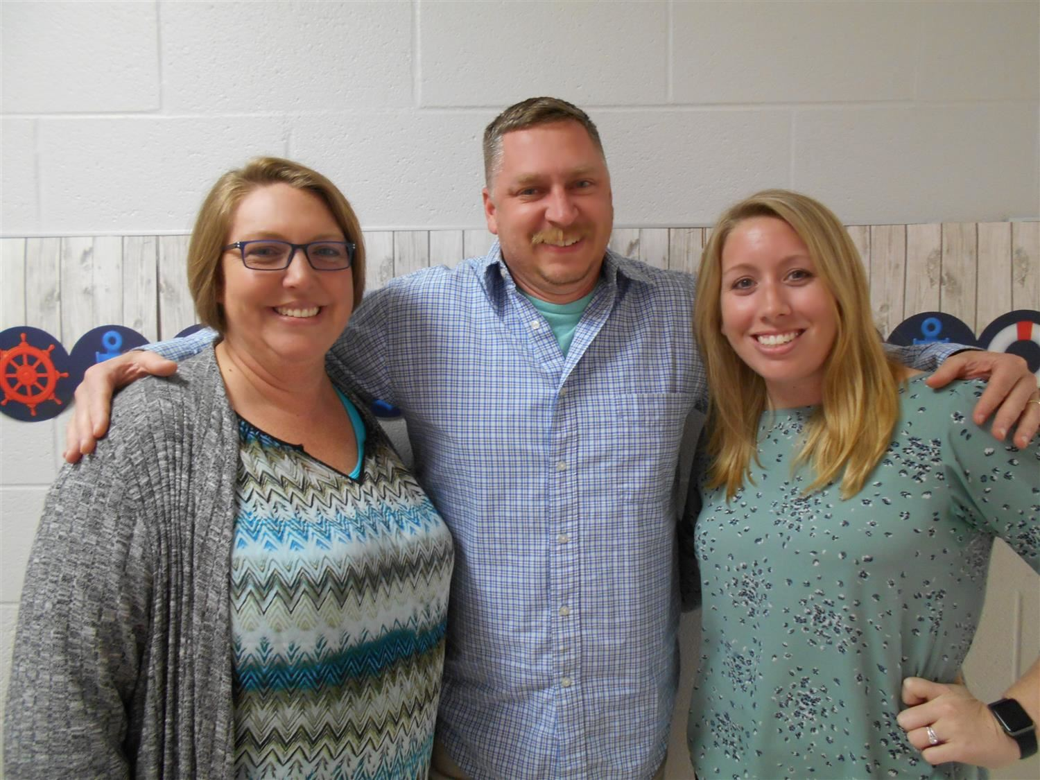 5th Grade Teachers - Mrs. Morgan, Mr. Carlson, and Mrs. Wise