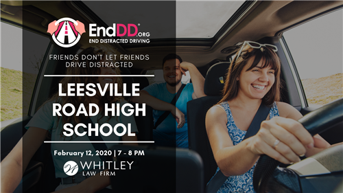 End Distracted Driving Event, 2/12/2020, 7-8 pm