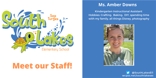 Ms. Amber Downs, Instructional Assistant