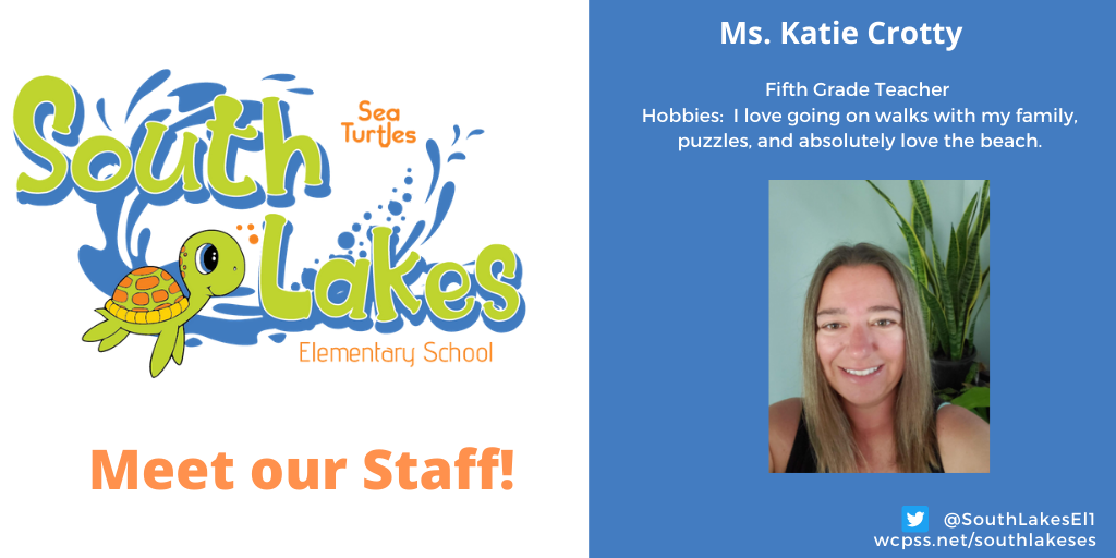 Ms. Katie Crotty Fifth Grade Teacher