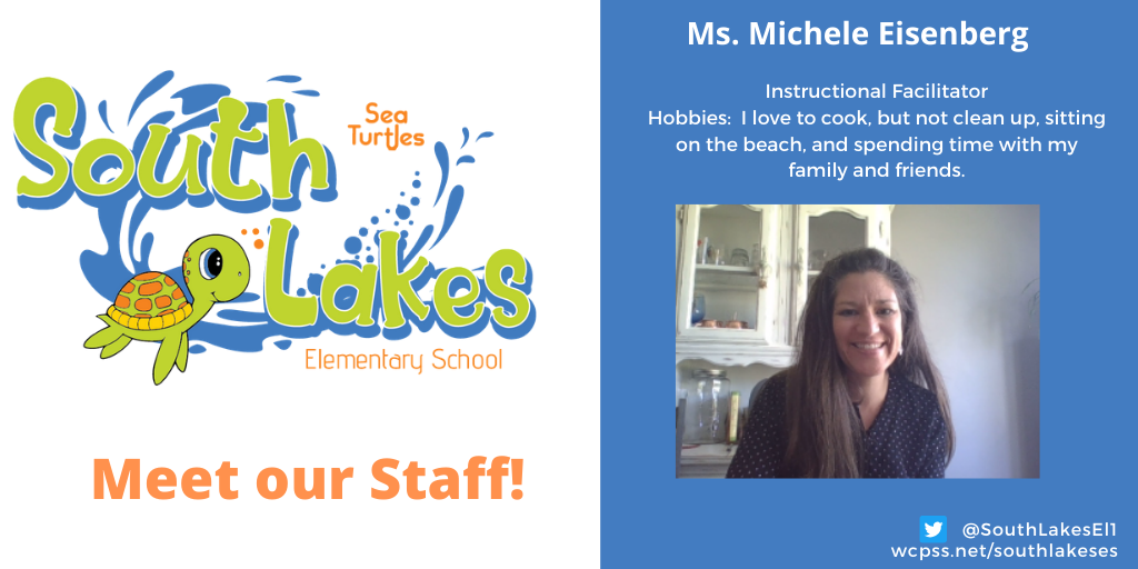 Ms. Michele Eisenberg Instructional Facilitator