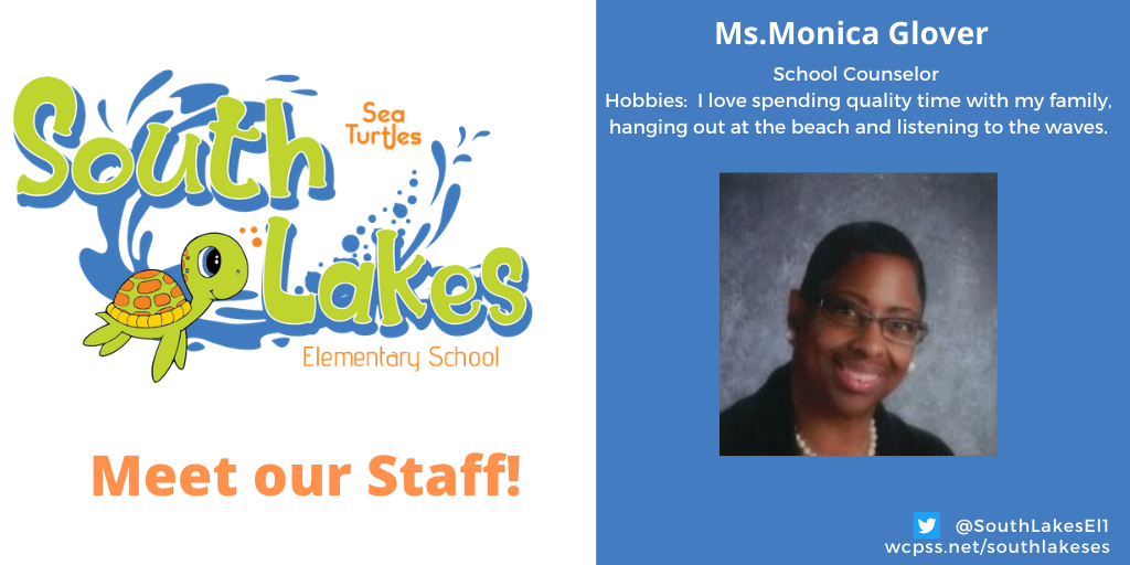 Ms. Monica Glover School Counselor