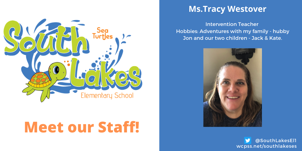 Ms. Tracy Westover Intervention Teacher