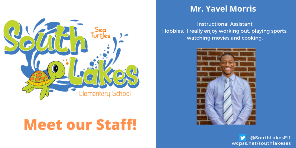 Mr. Yavel Morris Instructional Assistant