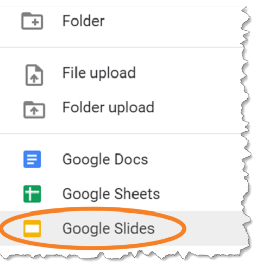 Google Slides Create/Share/Edit