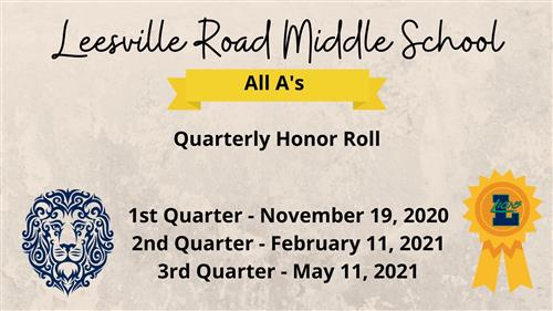 LRMS Honor Roll