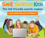 Google Safe Search Kids, Th ekid friendly search engine, Lock Safe Seach at school, students looking at a computer.