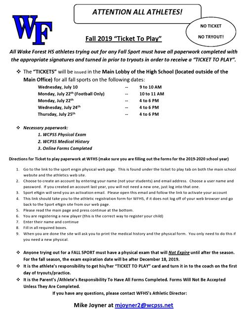 Athletic Forms / Overview