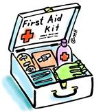 First Aid Kit to file staff accident reports