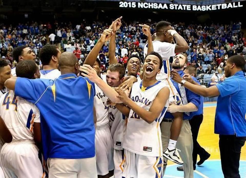 Garner wins the state basketball championship