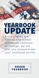 Yearbook Update: Limited copies remain!