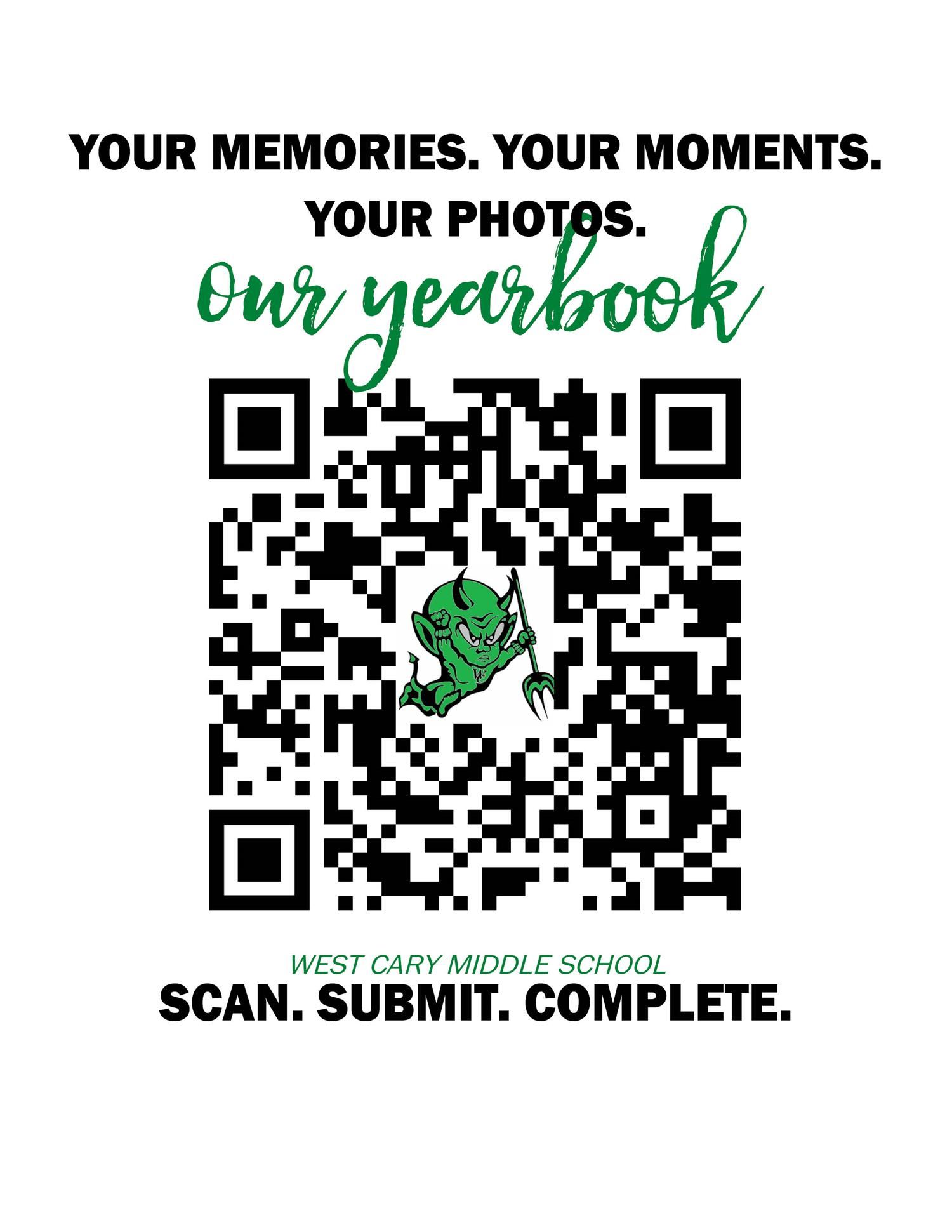 Yearbook Photo Submission QR