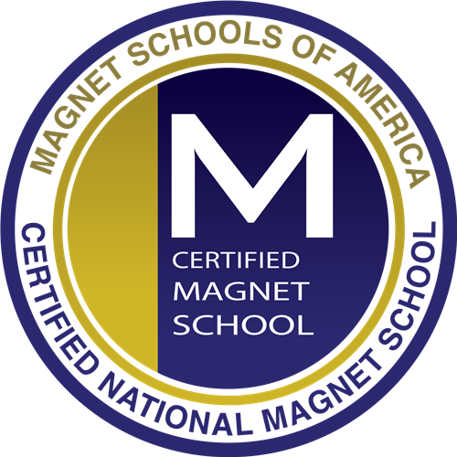 Certified National Magnet School Seal