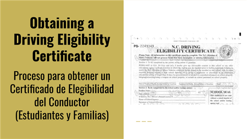 Driving Eligibility Certificate