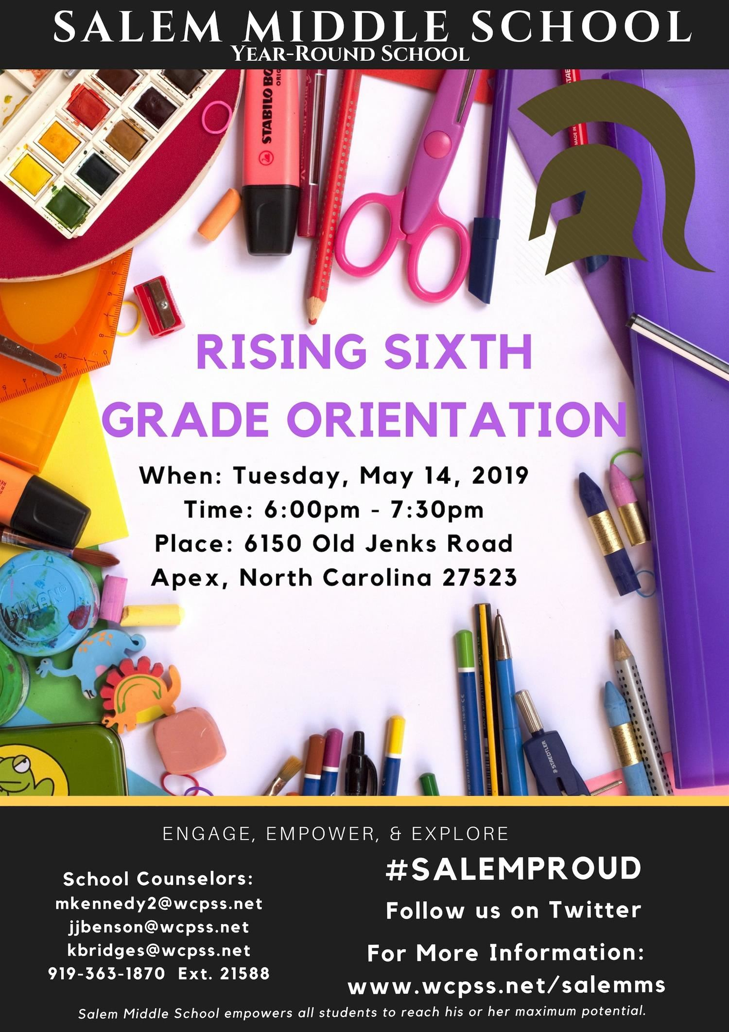 Salem Middle Open House