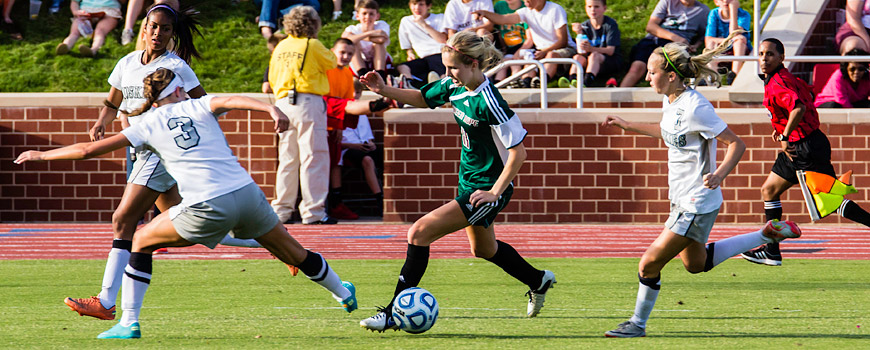 Photo of Women's soccer state championship