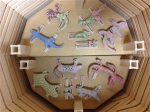 Kiln loaded Lizards 2