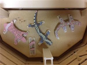 Kiln loaded Lizards 3