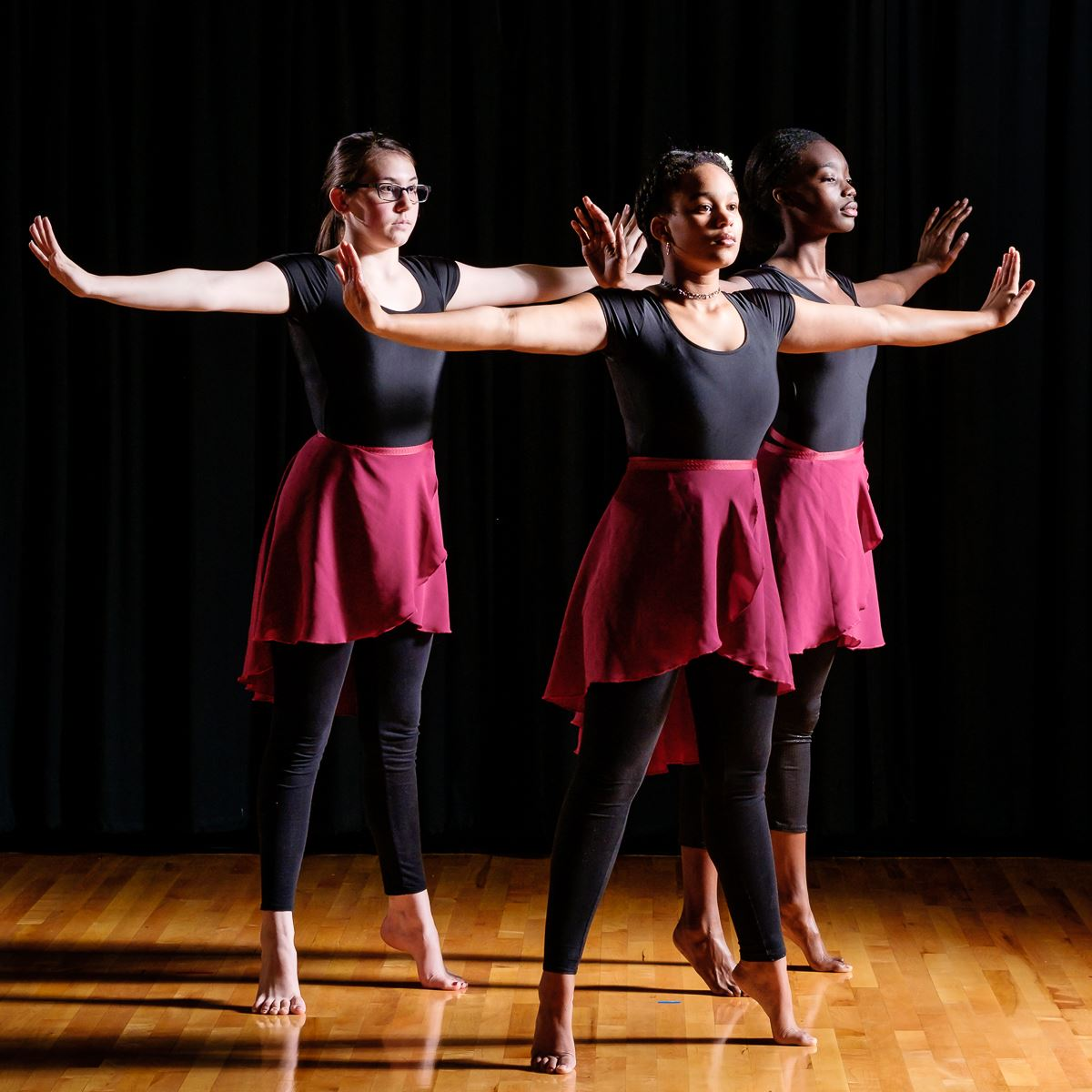 Photo of student dancers.