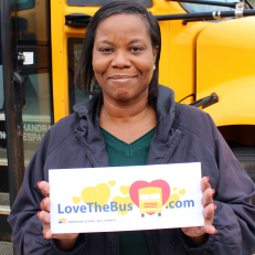 @eastcarymiddle #LoveTheBus