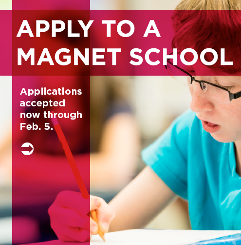 Apply to a magnet school