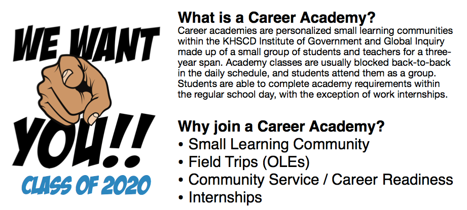 Knightdale Career Academy Application