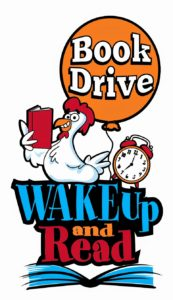 Wake Up and Read Book Drive!