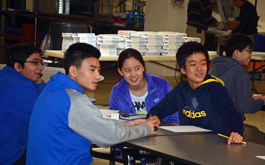Carnage Middle School's MathCounts Team wins 1st place in regionals