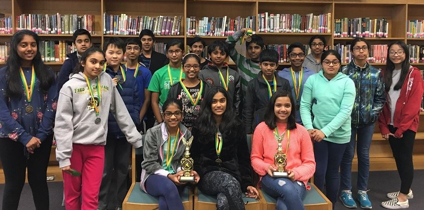 Science Fair Participants and Winners
