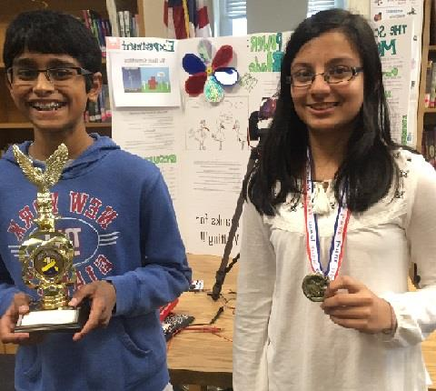 Science Fair Results