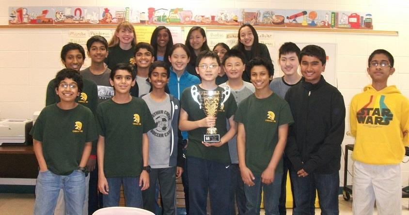 Varsity Science Olympiad wins 1st place at Regional Competition