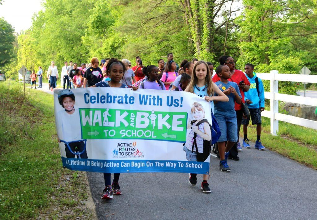 Bugg's 1st Annual Walk and Bike to School