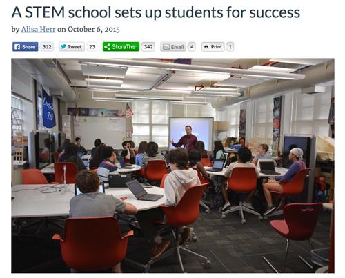 A STEM School Sets Up Students For Success - Large