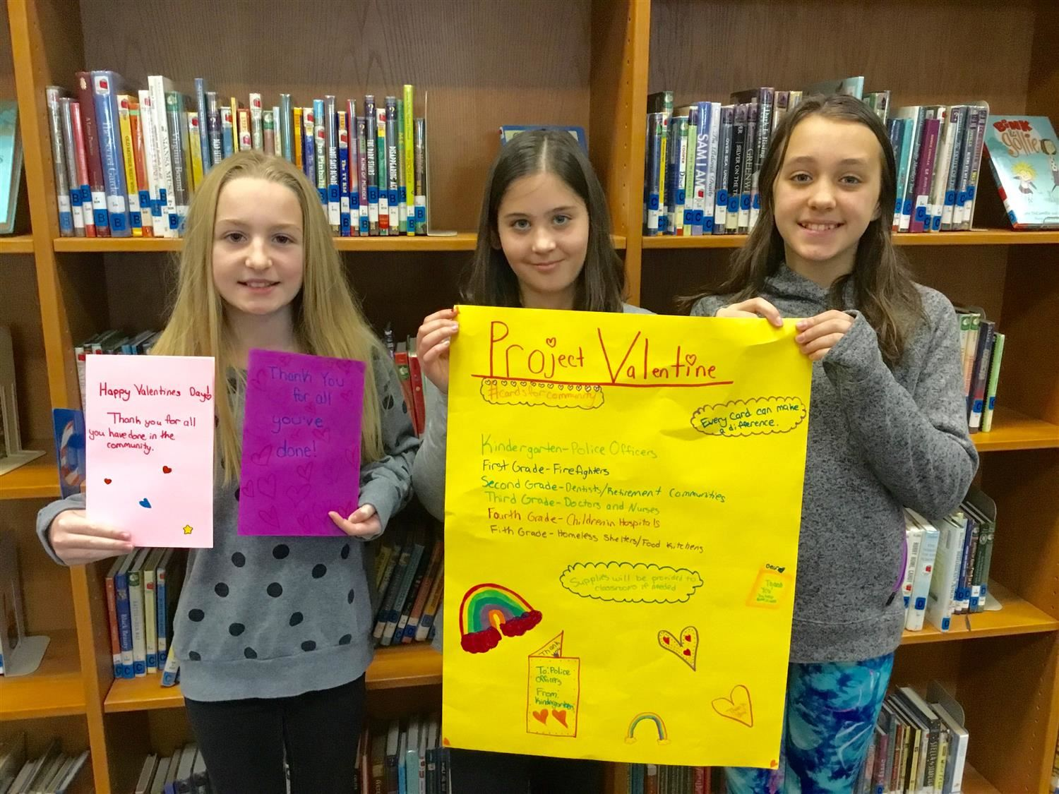 Student Leaders Design Service Project