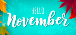 Welcome to November - 11.1.19 Memo