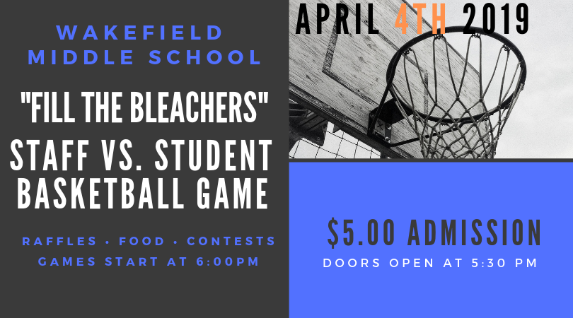 """Fill The Bleachers"" Student Staff Game"