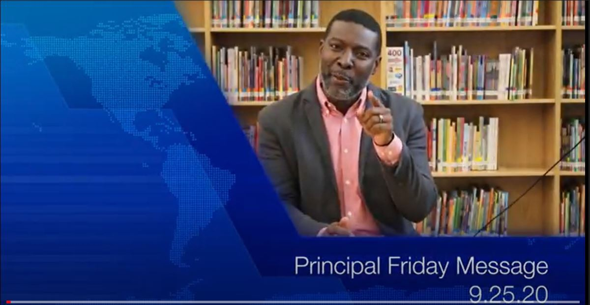 Principal Friday Message 9.25.20