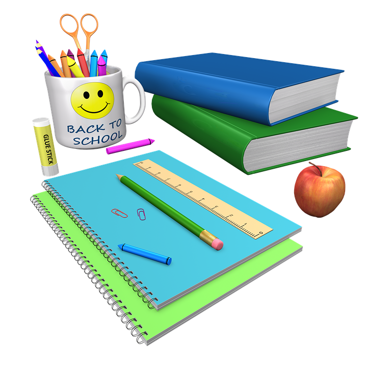 picture of school materials