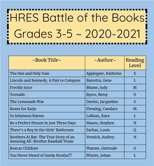 HRES BATTLE OF THE BOOKS