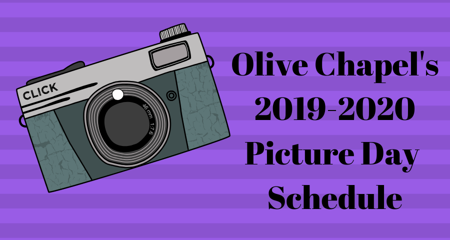 2019-2020 Picture Day Schedule