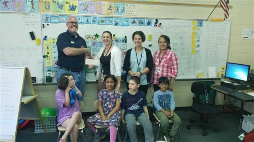 Ms. Coles' Classroom Receives Grant!