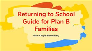 return to school plan b families
