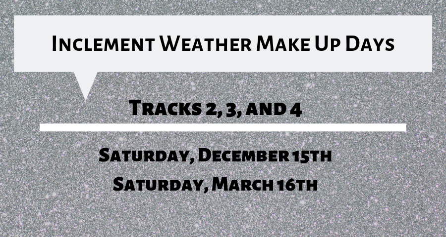 Inclement Weather Make Up Days