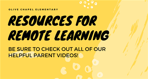 OCE Resources for Remote Learning