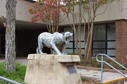 jaguars statue