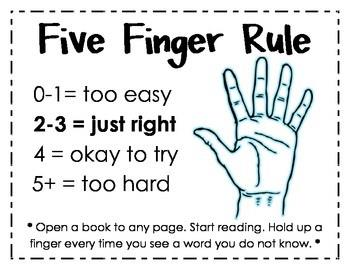 Five Finger Rule