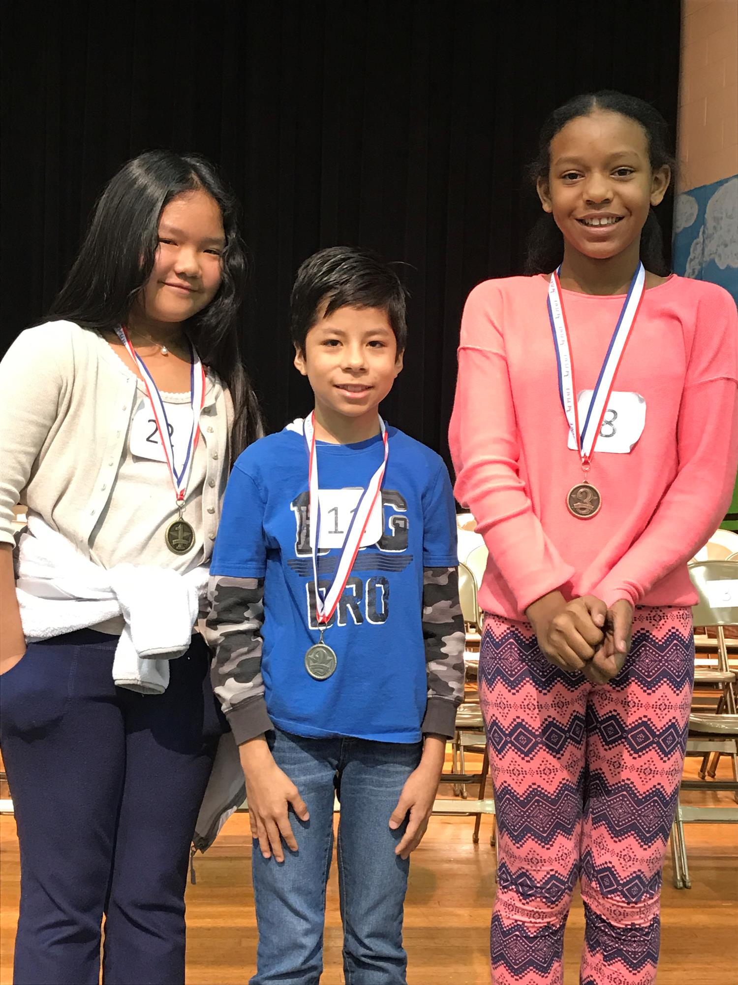 LES 2017 Spelling Bee Winnders