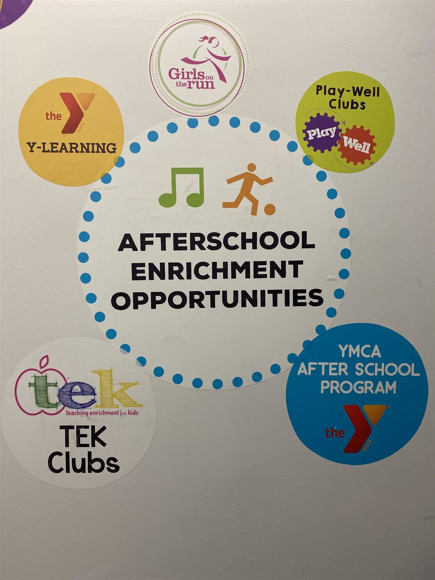 After School Enrichment Opportunities