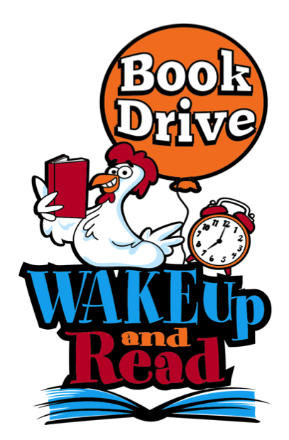 WAKE Up and Read Book Drive